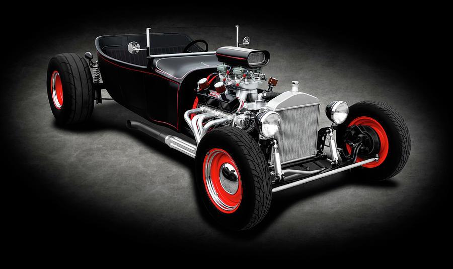 American Hotrod R//T New Era Muscle Car Hoodie for Men
