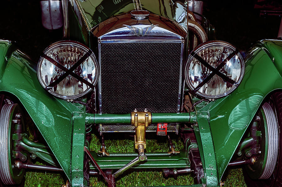 Invicta Photograph - 1930s Invicta Roadster In Colour by Graham Cornall