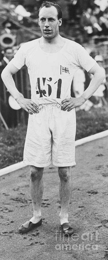 1924 Olympic 400-meter Winner Eric Photograph by Bettmann