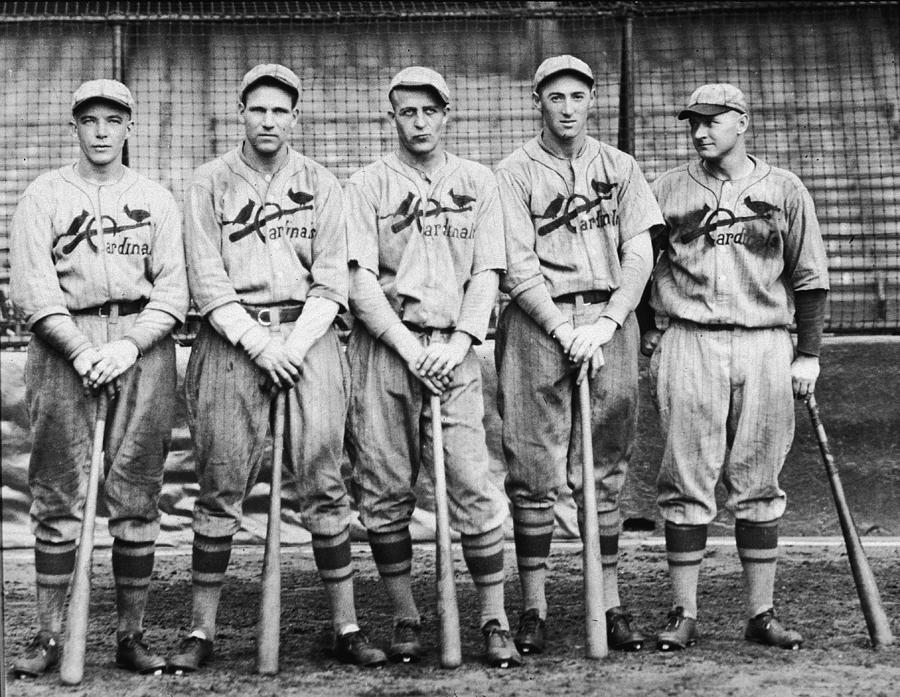 1926 St. Louis Cardinals Photograph by Hulton Archive