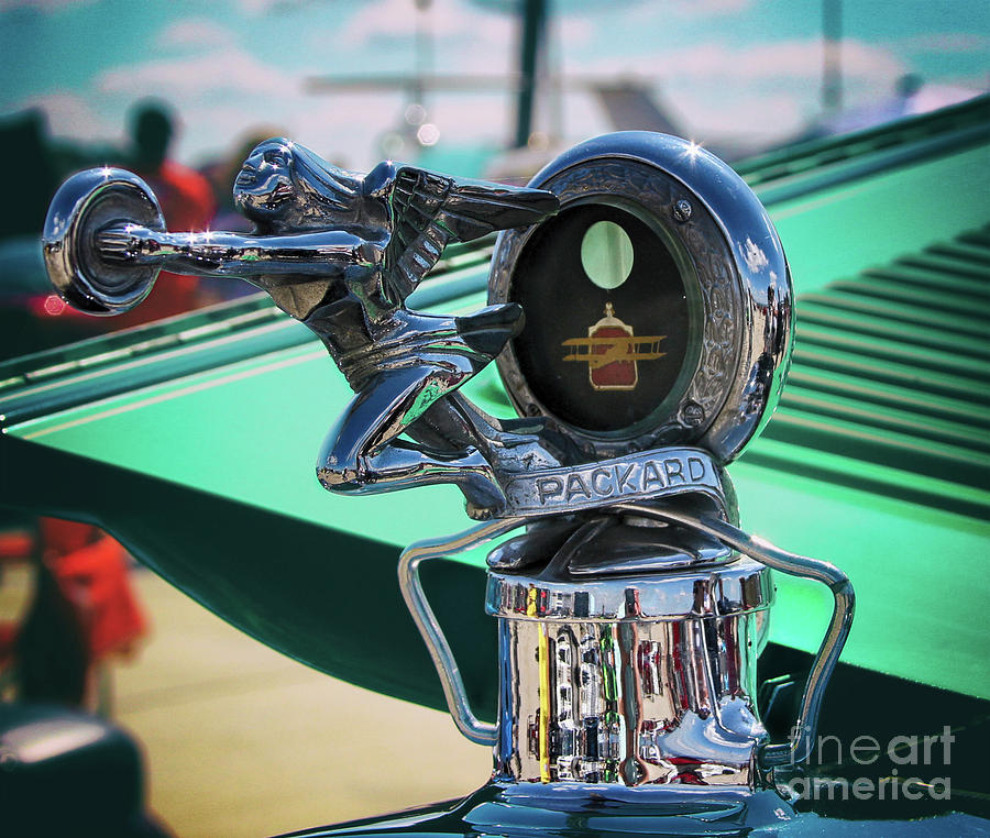 Packard Photograph - 1927 Packard Hood Ornament by Steven Digman