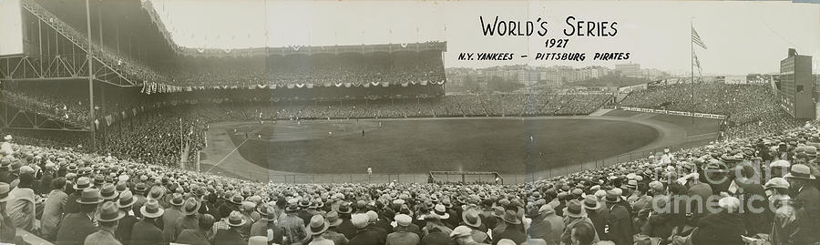 1927 World Series At Yankee Stadium 1927 Photograph by National Baseball Hall Of Fame Library