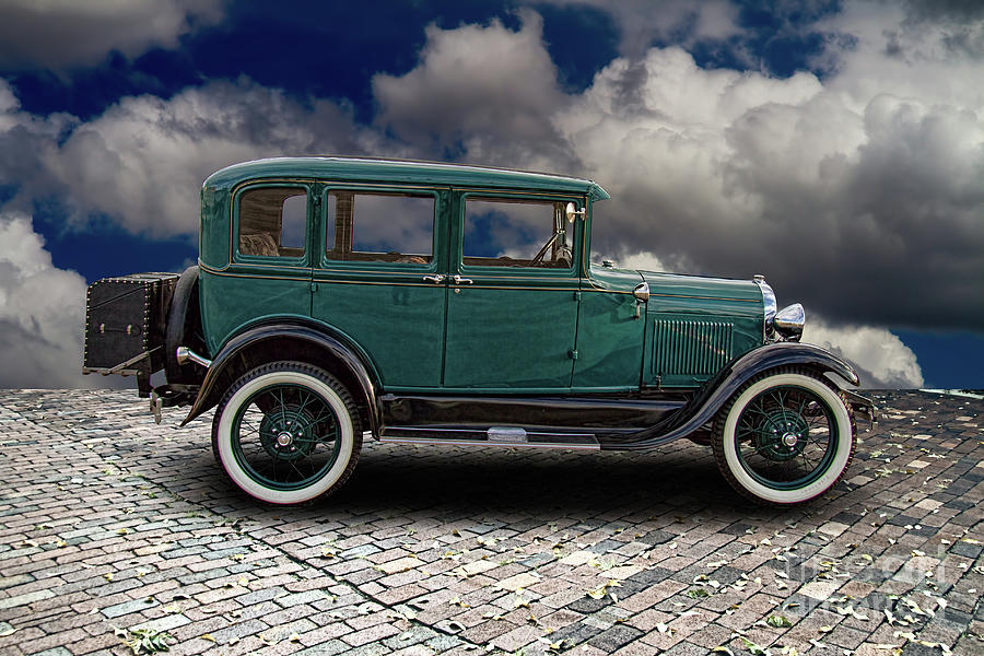 1929 Model A Ford Four Door Sedan Photograph By Nick Gray