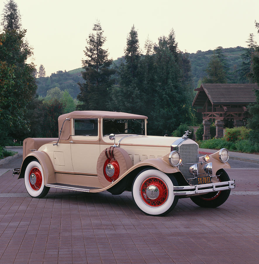 Tranquility Photograph - 1929 Pierce-arrow Model 133 Convertible by Car Culture