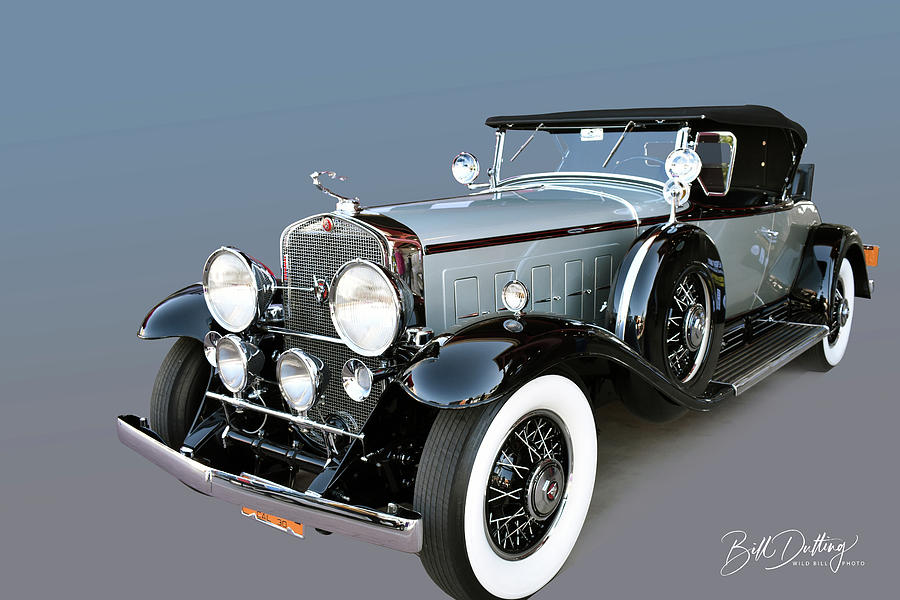 1930 Cadillac V16 roadster by Bill Dutting
