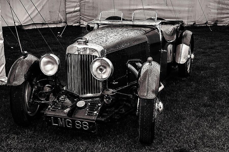 Aston Martin Photograph - 1930s Aston Martin Convertible by Graham Cornall