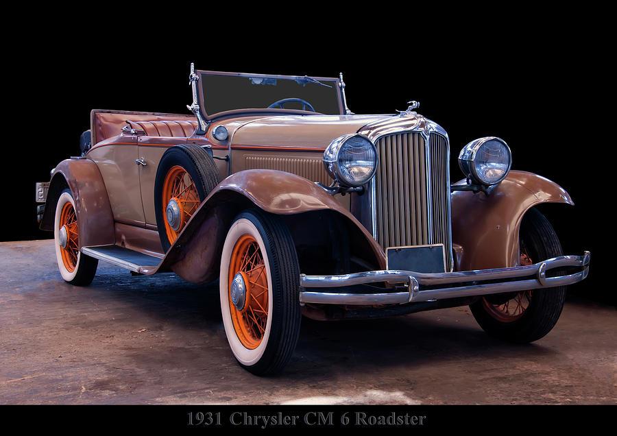 1931 Chrysler CM6 Roadster by Chris Flees