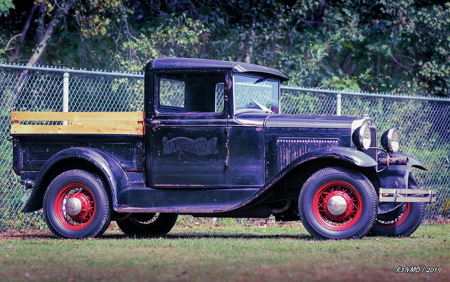 1931 Model A Ford Pickup Digital Art By Ken Morris