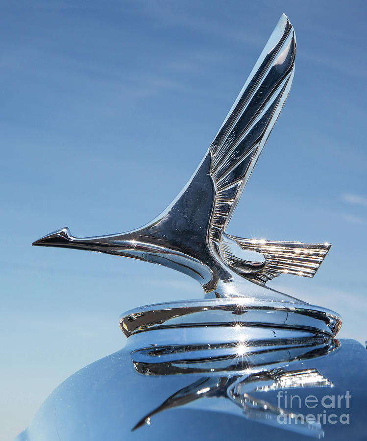 1931 Studebaker Automobile Hood Ornament by Kevin McCarthy