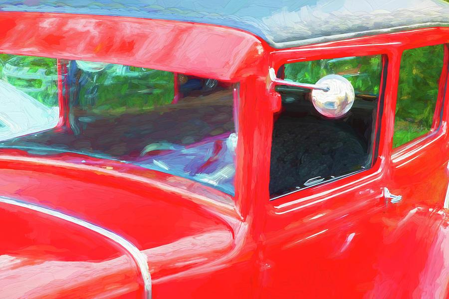 1932 Ford Tudor Sedan 004 by Rich Franco