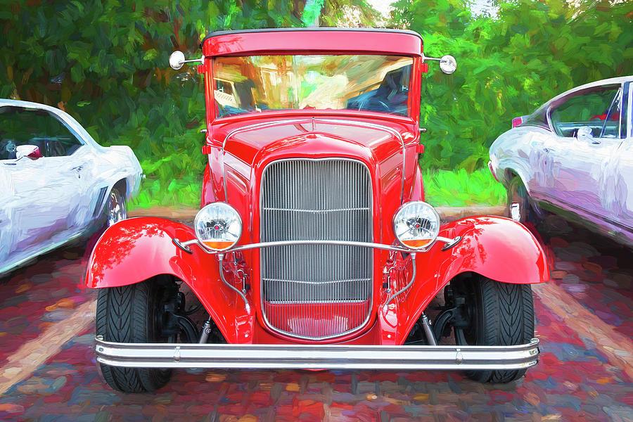 1932 Ford Tudor Sedan 008 by Rich Franco