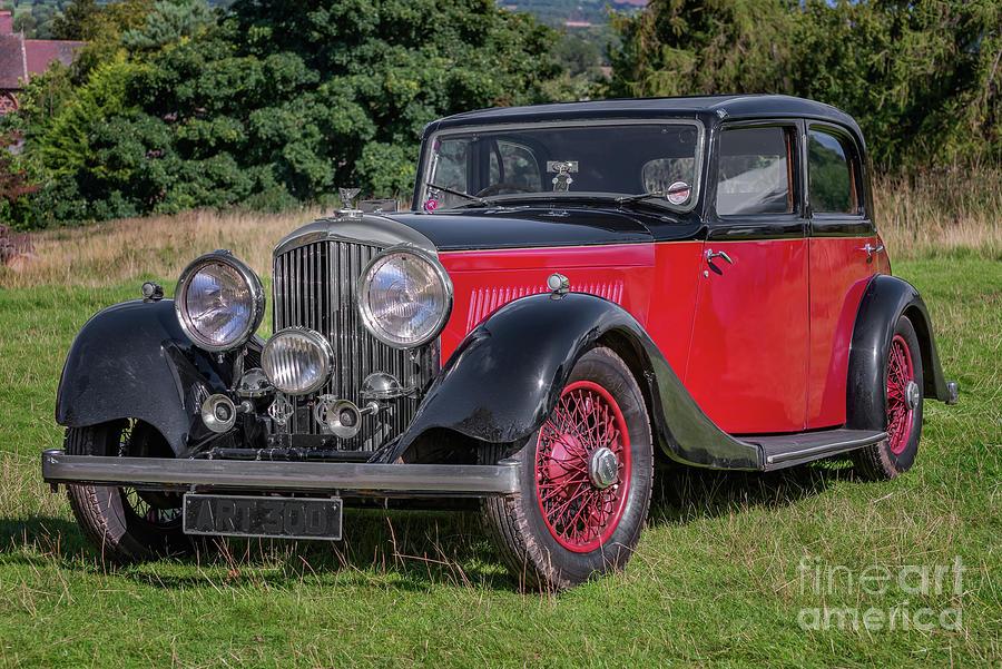 Bentley Photograph - 1934 Bentley by Adrian Evans