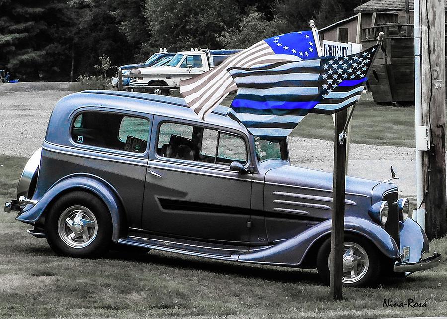 1935 Chevy by Nina-Rosa Duddy
