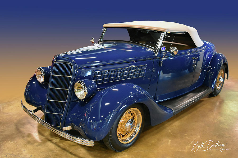 1935 Ford Convertible by Bill Dutting