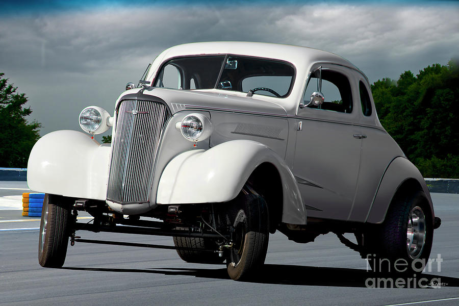 1937 Chevrolet 'gasser Style' Coupe