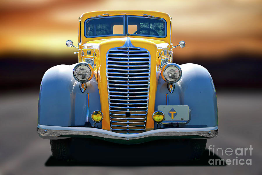 1937 Diamond T 212d Truck Photograph By Dave Koontz