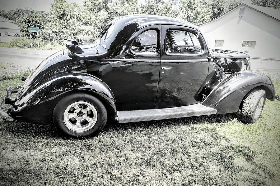 Ford Photograph - 1939 Ford Coupe  by Paul Kercher