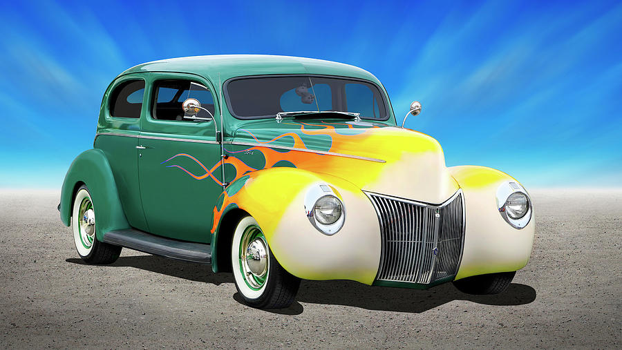 1940 Ford Coupe by Mike McGlothlen