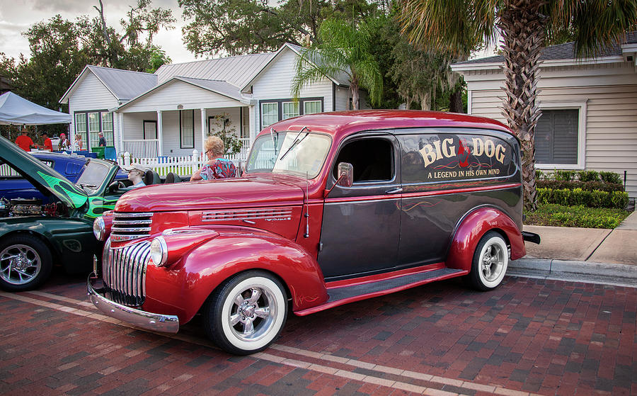 1946 Chevy Sedan Panel Delivery truck 202 by Rich Franco