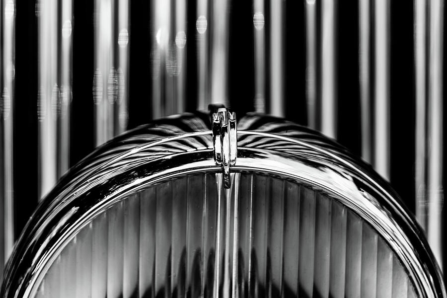 1947 Bentley Saloon Headlight by Lauri Novak