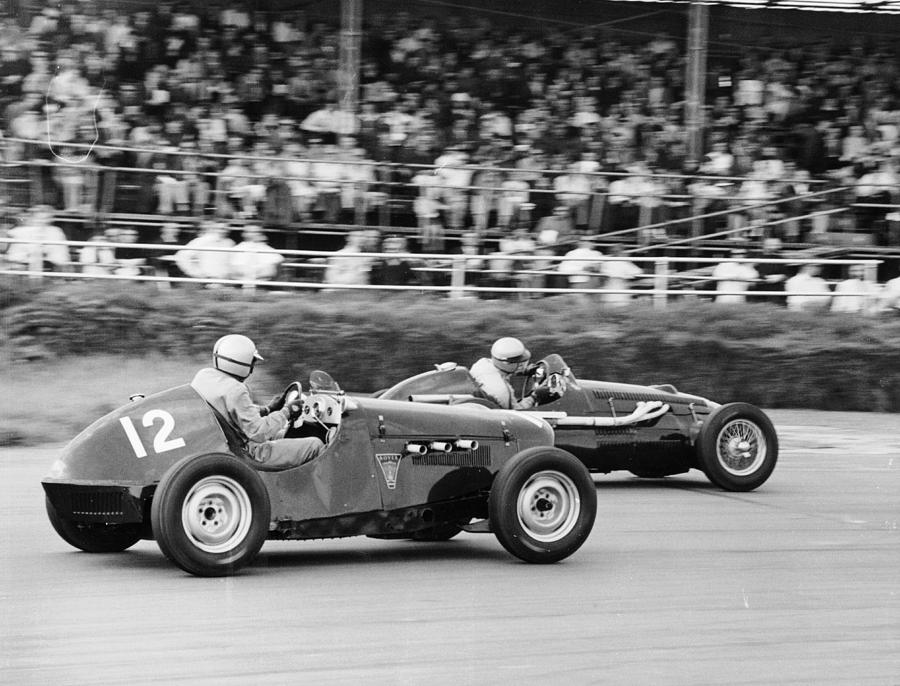 1949 Rover Special And 1951 Alta Photograph by Heritage Images