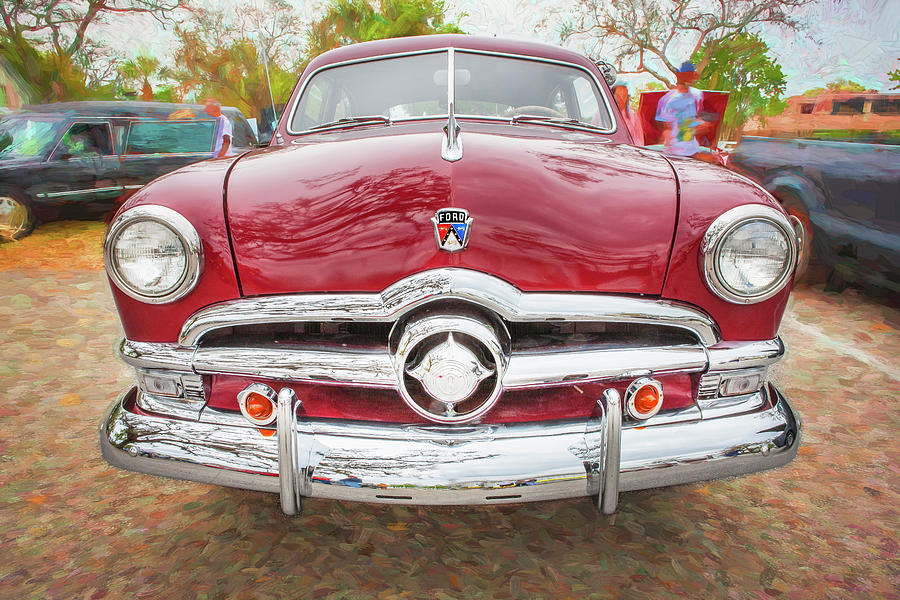 1950 Ford Deluxe 2-Door Club Coupe 200 by Rich Franco