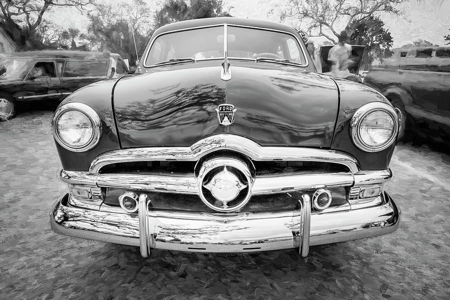 1950 Ford Deluxe 2-Door Club Coupe 201 by Rich Franco