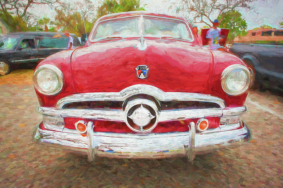 1950 Ford Deluxe 2-Door Club Coupe 202 by Rich Franco