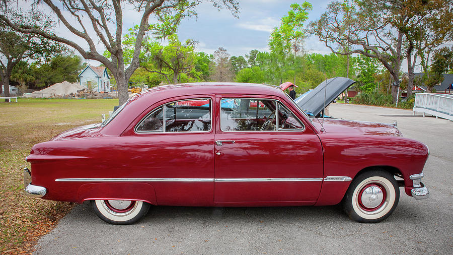 1950 Ford Deluxe 2-Door Club Coupe 206 by Rich Franco