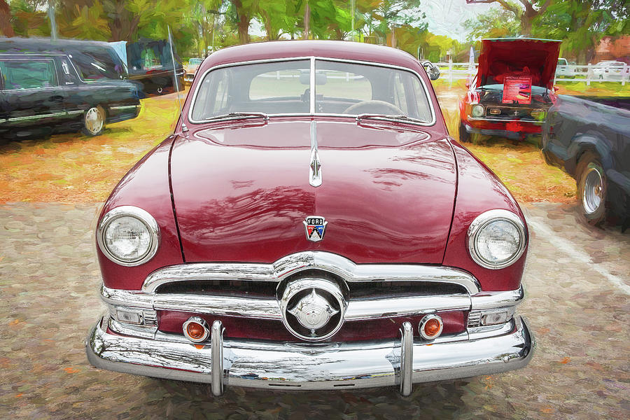 1950 Ford Deluxe 2-Door Club Coupe 207 by Rich Franco