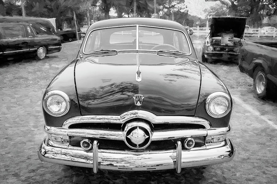 1950 Ford Deluxe 2-Door Club Coupe 208 by Rich Franco