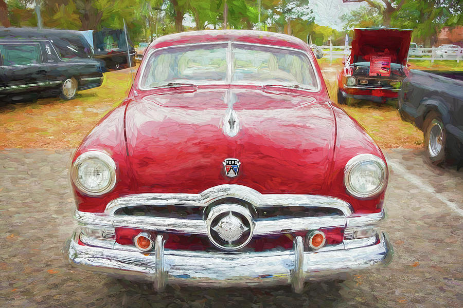 1950 Ford Deluxe 2-Door Club Coupe 209 by Rich Franco