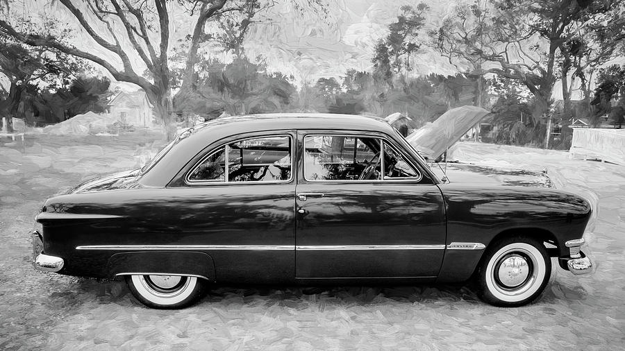 1950 Ford Deluxe 2-Door Club Coupe 210 by Rich Franco