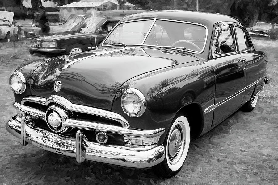 1950 Ford Deluxe 2-Door Club Coupe 212 by Rich Franco