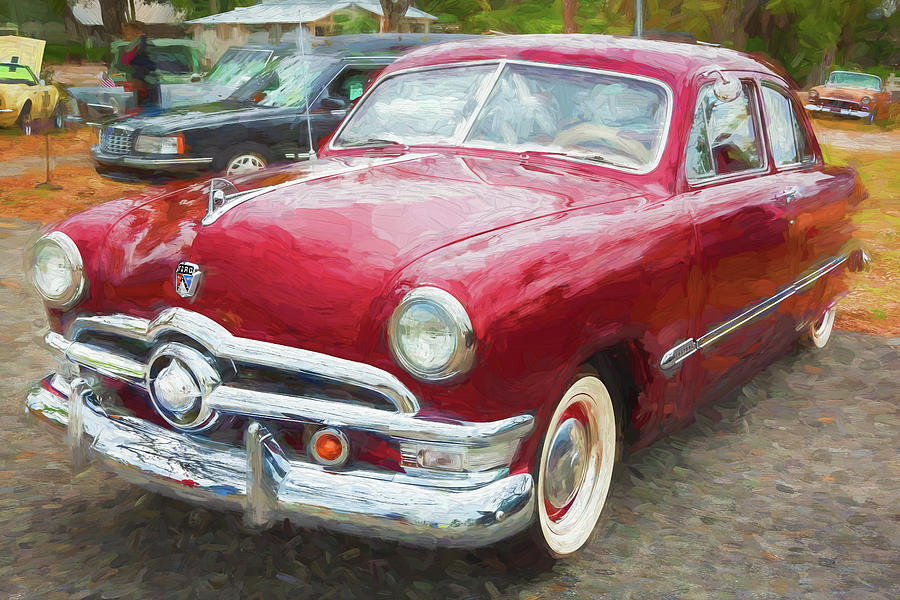 1950 Ford Deluxe 2-Door Club Coupe 213 by Rich Franco