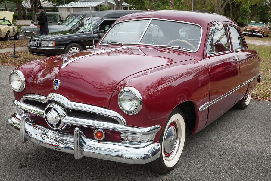 1950 Ford Deluxe 2-Door Club Coupe 214 by Rich Franco
