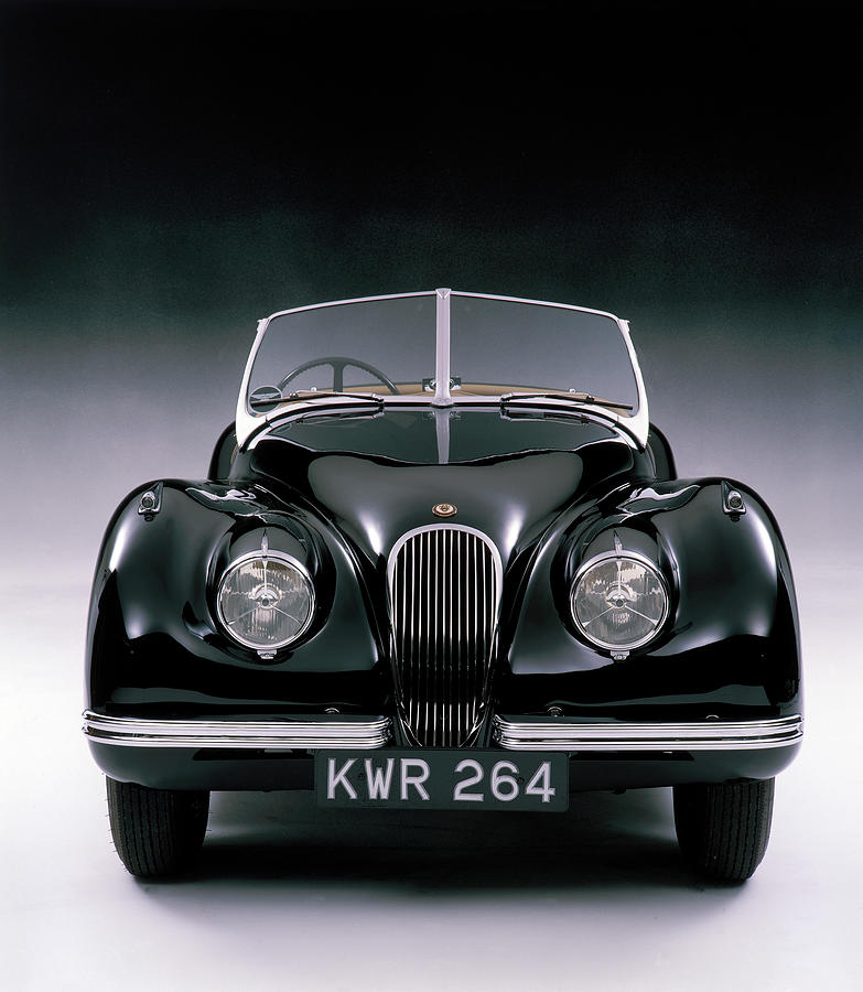 1950 Jaguar Xk 120 Photograph by Heritage Images