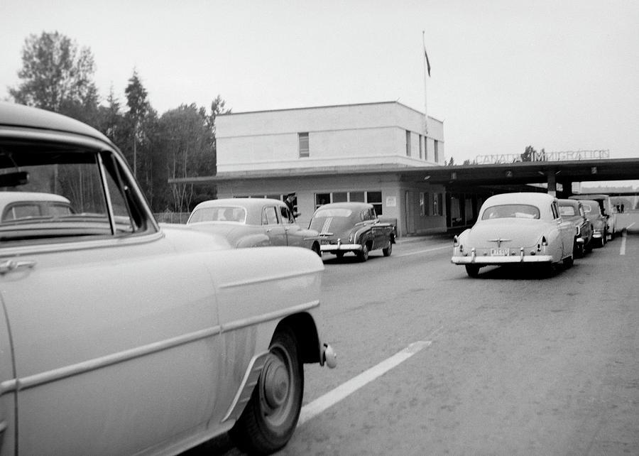 1950's Canadian Border by Brian Duram
