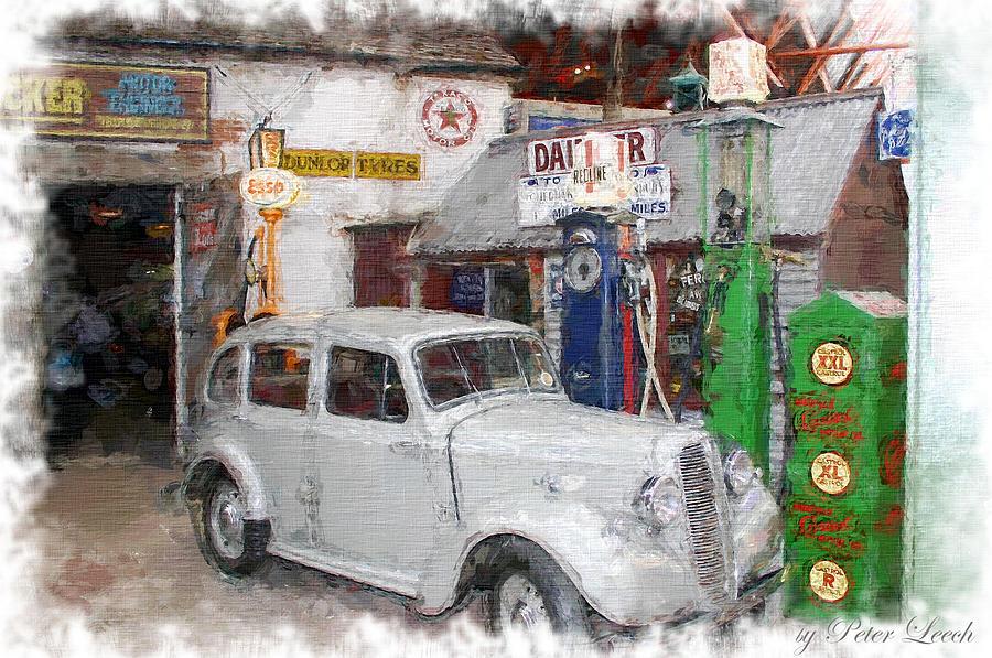 1950s Garage by Peter Leech