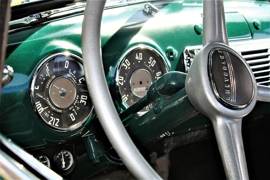 1951 Chevy Chevrolet Pickup Truck Dashboard