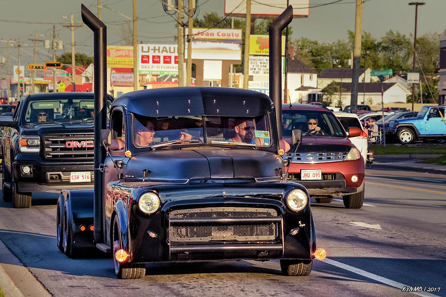 1951 Photograph - 1951 Dodge Fargo Tractor Truck by Ken Morris