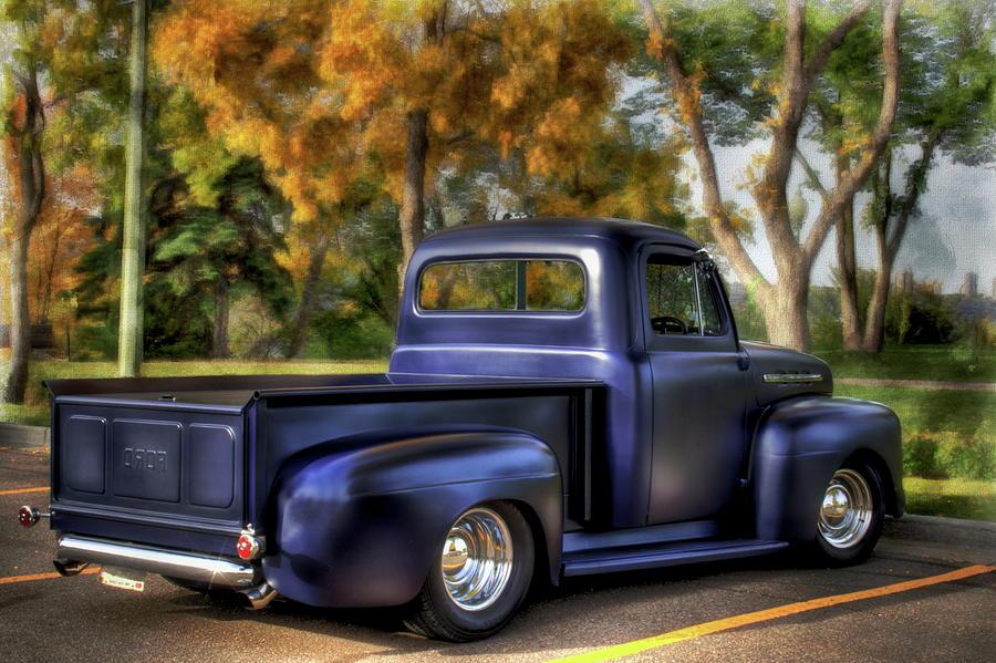 1951 Ford Truck by Anthony Dezenzio