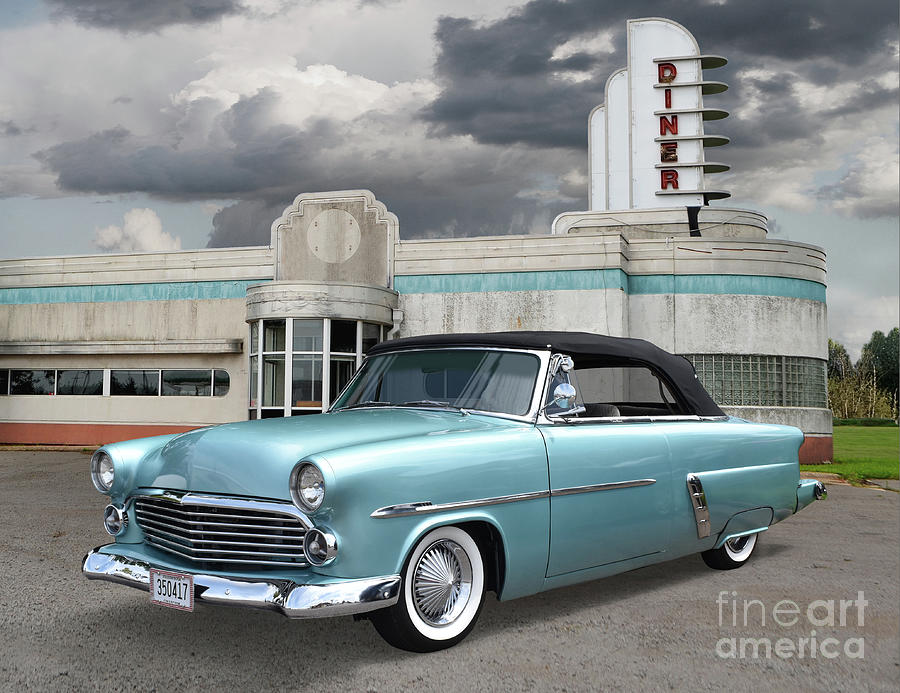 1952 Ford Sunliner Convertible Custom Photograph