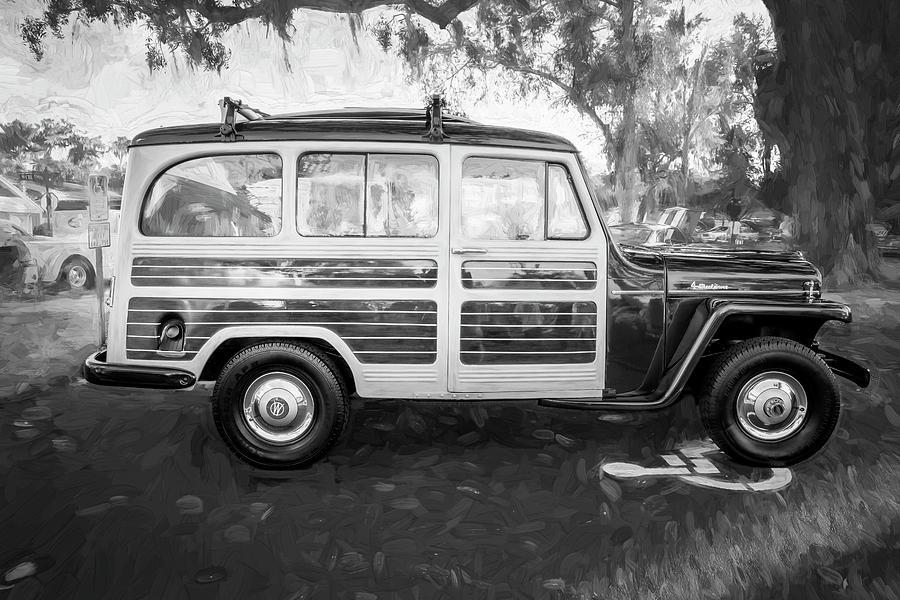 1953 Willys Wagon 4x4 001 by Rich Franco