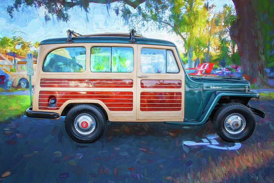 1953 Willys Wagon 4x4 002 by Rich Franco