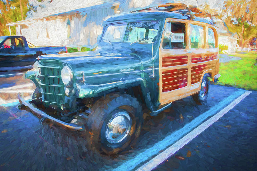 1953 Willys Wagon 4x4 003 by Rich Franco