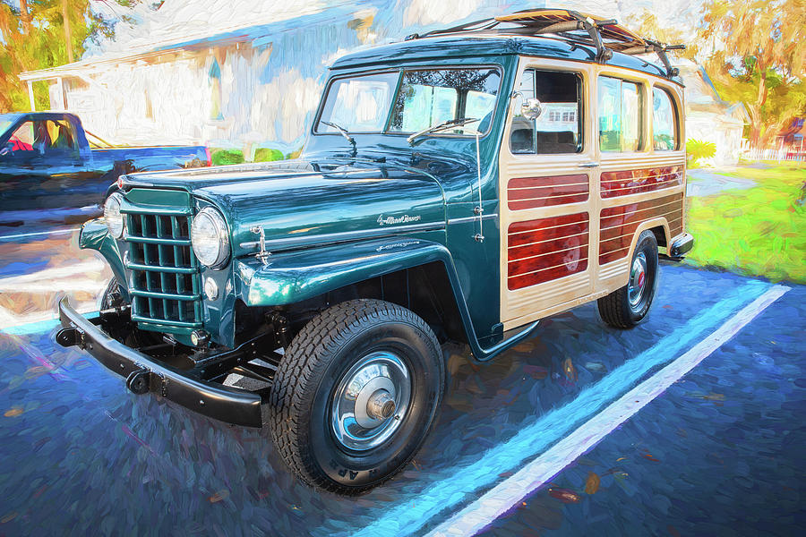 1953 Willys Wagon 4x4 004 by Rich Franco