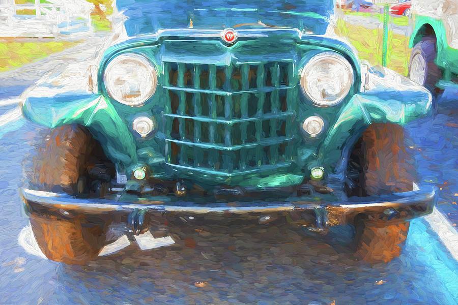 1953 Willys Wagon 4x4 006 by Rich Franco