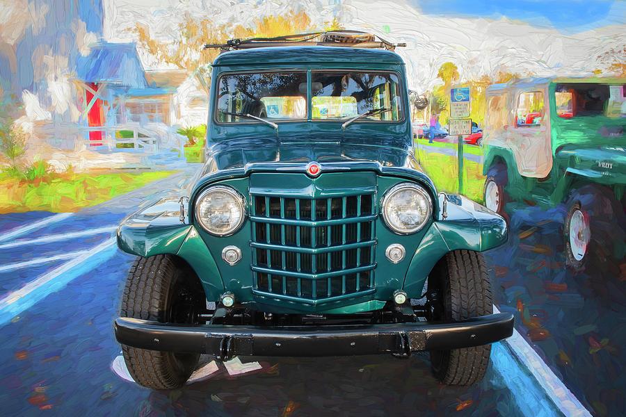 1953 Willys Wagon 4x4 008 by Rich Franco