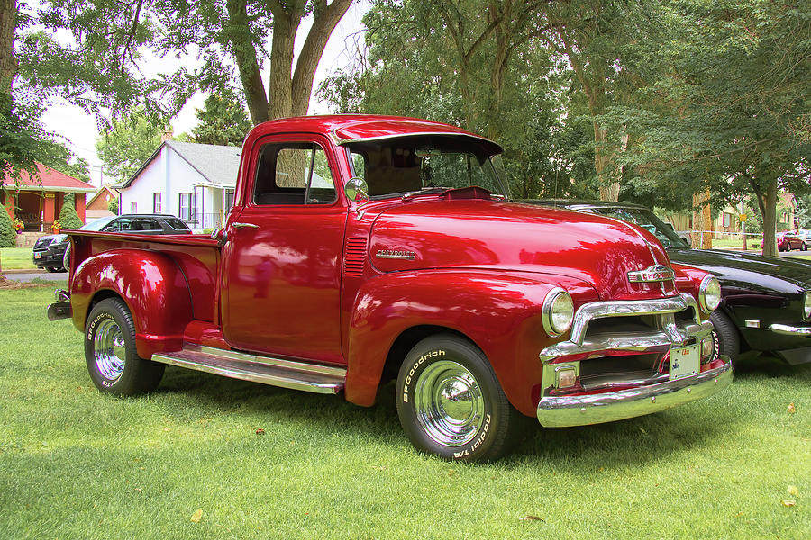 1954 Chevrolet Pickup Truck Photograph By Nick Gray